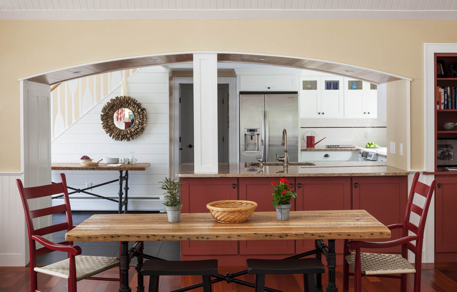 Finnerty Design New England Kitchen Remodel